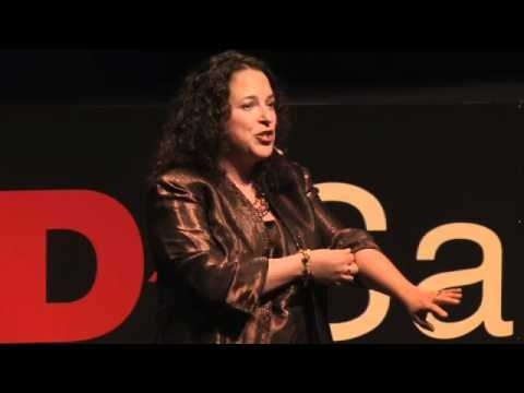 Alicia Arenas presenting at a TED Talk in San Antonio, Texas (2010) on the effects of being a sibling to a brother or sister with special needs.